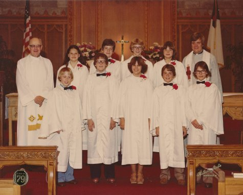 Diamond Lake Confirmands - 1979