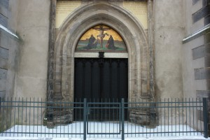 The Door at the Castle Church in Wittenberg